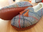 Guys Slippers, Minelli leather soles